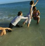 Water Dance Project Takes To The Beach