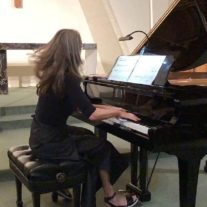 Yvonne Troxler in Performance at St. Bede Chapel