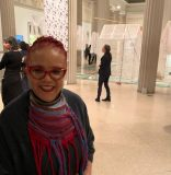 Art curator Rosie Gordon-Wallace stays on mission, with hope & the will to help
