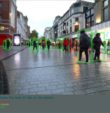 Keep Your Distance with the Social Distance Detector