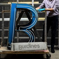 Remember downtown Miami's Burdines sign? It's one of the treasures HistoryMiami is putting on display